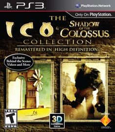 The ICO and Shadow of the Colossus Collection by Sony Computer Entertainment, http://www.amazon.com/dp/B002I0J5FG/ref=cm_sw_r_pi_dp_WKfItb0AQJ389