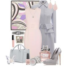 """Neutral #1"" by andrea-hoss-bickerton on Polyvore"