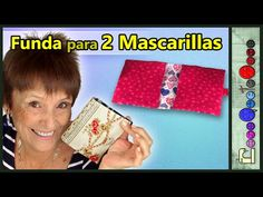 Funda para 2 Mascarillas [Tutorial] - YouTube Mascara Tutorial, Youtube, Diy, Sewing Techniques, Sewing Patterns, Fabric Purses, Clutch Purse, Satchel Handbags, Purses