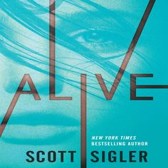 'Alive by Scott Sigler' A teenage girl awakens to find herself trapped in a coffin. She has no idea who she is, where she is, or how she got there. Fighting her way free brings little relief - she discovers only a room lined with caskets and a handful of equally mystified survivors. Beyond their room lies a corridor filled with bones and dust but no people and no answers.