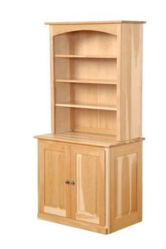 Amish Chapman Bookcase Gorgeous solid wood bookcase handcrafted in Amish country. Choose from three wood types and lots of finish colors.