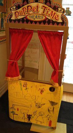 Kindergarten puppet theatre