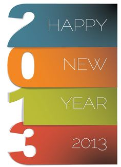 Beautiful New Year Greeting Card designs