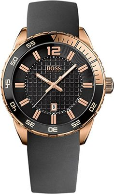 Buy your Hugo Boss Deep Blue SX 1512886 NOW at MYRwatches! All watches at the best prices. Hugo Boss Watches, Gents Watches, Cool Watches, Watches For Men, Montres Hugo Boss, Boss Black, Rose Gold Watches, Hugo Boss Man, Watch Sale