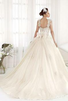 Ball Gown Wedding Dresses : Wedding dress idea; Featured Dress: Delsa Couture