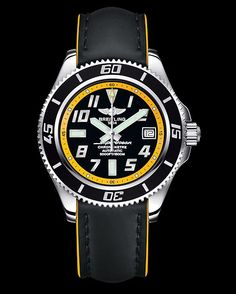 #Breitling Superocean 42 water-resistant up to 1,500m for those who seek (or dream of) underwater adventure!