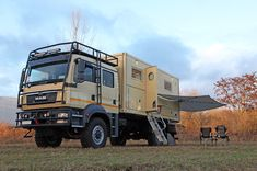 18 Foot Bliss Mobil on MAN TGM with Arctic Package - Bliss Mobil - Freedom of Independence 6x6 Truck, Truck Camper, Unimog U4000, Quad, Overland Trailer, Adventure Campers, Off Road Camper, Expedition Vehicle, Diy Camper