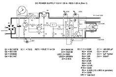 20A Transformerless Power Supply