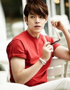 Kim Woo Bin - Giordano S/S 2014