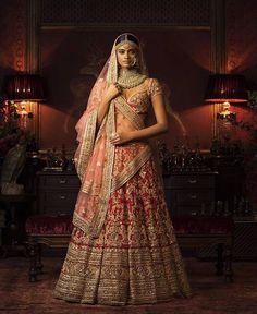 Sabyasachi Couture 2016  FIRDAUS  Bridal Heritage  Kishandas for Sabya  For more, follow @keynas03 ✨✨