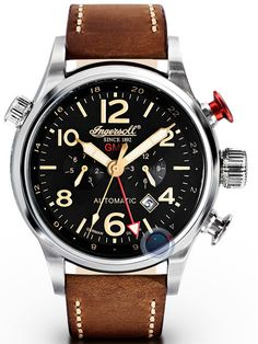 Montre Ingersoll Lawrence Automatique #montre #ingersoll #lwarence #automatique #fashion #fashionformen #mensfashion #watch #watches #automatic #chronograph