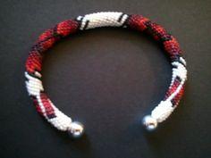 Native American Peyote Stitch Beaded Bracelet
