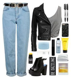 """""""STREET STYLE"""" by dianakhuzatyan ❤ liked on Polyvore featuring WithChic, IRO, Topshop, Sharpie, Frette, Marc Jacobs, Aveda, philosophy and Chanel"""