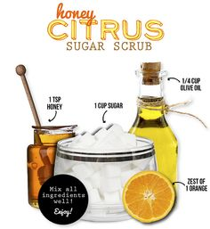 honeycitrusscrub by thestyledossier, via Flickr