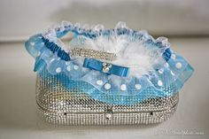 A custom Disney bridal garter with Mickey Mouse ears ~ contact me today to order your own!