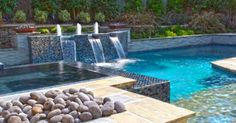 Image result for rectangular pool with rectangular jacuzzi