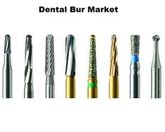 Global dental bur market is expected to witness substantial growth in the coming years due to increasing awareness for dental aesthetics among people of different age groups. Dental bur is a dental instrument used by dentists for cutting bone or tooth like tissues.