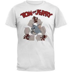Tom and Jerry - Recycled Vintage T-Shirt