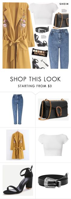 """Shein 4/10"" by arohii ❤ liked on Polyvore featuring Miss Selfridge, Helmut Lang, MANGO, NYX, autumn, longcoat and shein"