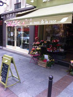 au nom de la rose, paris. Love this shop