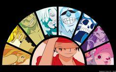 One Piece Straw Hat Pirates 2l