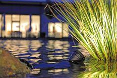 Oświetlanie basenu i stawu kąpielowego