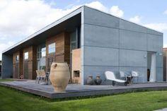 Contemporary Exterior House With Concrete Cladding : Exterior Concrete Cladding For The House
