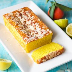 The inspiration for this lemon, turmeric, and semolina cake comes from the traditional Lebanese 'sfouf' cake. The treat, which is traditionally made for holidays or special events in Le…