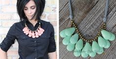 Extra Large Briolette Statement Necklace – 6 Colors!