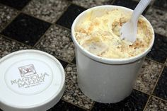 Banana Pudding from Magnolia Bakery. Words cannot begin to describe its deliciousness. Just try it!