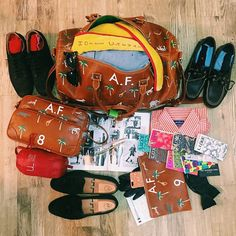 VTC's Darjeeling luggage. Most amazing Wes Anderson-inspired travel bags!  Southern Arrondissement // Travel: Wes Anderson Style