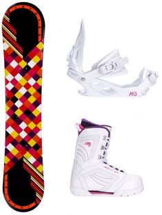 Everything You Need to Know About the Women's Joyride Checkers Snowboard Package Before You Buy It, and Why It's Great for Beginners. Snowboard Packages, Snowboard Bindings, Snowboarding Gear, Most Beautiful Pictures, What To Wear, Air Jordans, Sneakers Nike, Packaging, Air Jordan