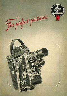 Instructions for Use Paillard Bolex Model H & Movie Cameras