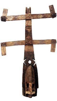 Dogon Kanaga Mask 3, Mali