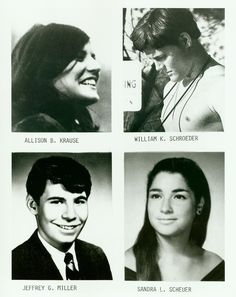 Four students killed at Kent State University, by  Ohio National Guard, as they were protesting Vietnam War, unarmed.