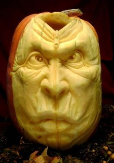 Pumpkin Sculpture