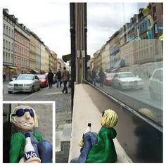 #Wasneaussicht ! Theo sieht schon doppelt.  #munichstreetart #munichstreets #urbanart # strassenkunst #munichstreets #schwabinger #amalienstrasse