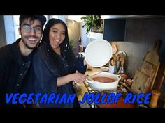 I TEACH MY INDIAN BOYFRIEND HOW TO MAKE A VEGETARIAN NIGERIAN JOLLOF RICE/ JOINUSFORTEA/ EP1 - YouTube