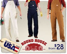 Round House Work Pants - Made in the USA