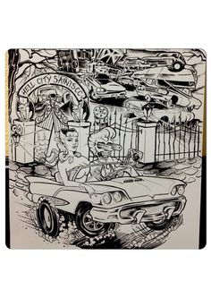 Hell City Saints by ZimmerArt on Etsy, $20.00