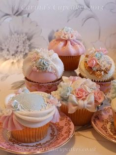 Bridal Shower cupcakes from Carina's Cupcakes