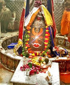 #Bhasma #Aarti pic of Shree #Mahakal #Ujjain -  Sept. 20  Visit the #holy city of Ujjain famous for its #Temples