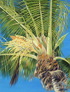 Tropical Bloom: Beach Decor, Coastal Home Decor, Nautical Decor, Tropical Island Decor & Beach Cottage Furnishings Beach Cottage Decor, Coastal Decor, Danielle Perry, Jungle Gardens, Paint Themes, Tropical Decor, Tropical Plants, Beach Art, Tree Art