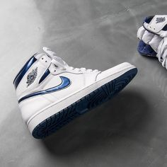 best sneakers 6f398 df9a6 Air Jordan 1 is back with its first retro release  the Metallic Navy. Drops