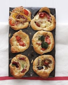 Mini Deep-Dish Pizzas | 31 Fun Treats To Make In A Muffin Tin