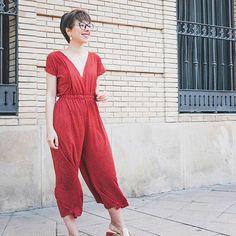 Un enterizo te soluciona el dilema diario y que me Iran, Jumpsuit, Couture, Sewing, Tips, Summer, Dresses, Fashion, Craft