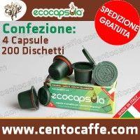 Capsule Ricaricabili Ecocapsula Compatibili Nespresso conf. da 4