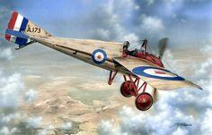 1916 Morane-Saulnier Type N 60 Squadron 2n Lt BM Wainwright