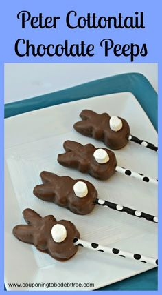 Peter Cottontail Chocolate Peeps