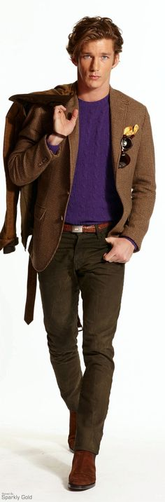 Ralph Lauren ~ Fall Men's Fashion 2015